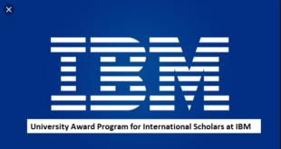 University Award Programs for International Students at IBM