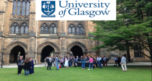 University of Glasgow PGT Excellence Scholarship Award