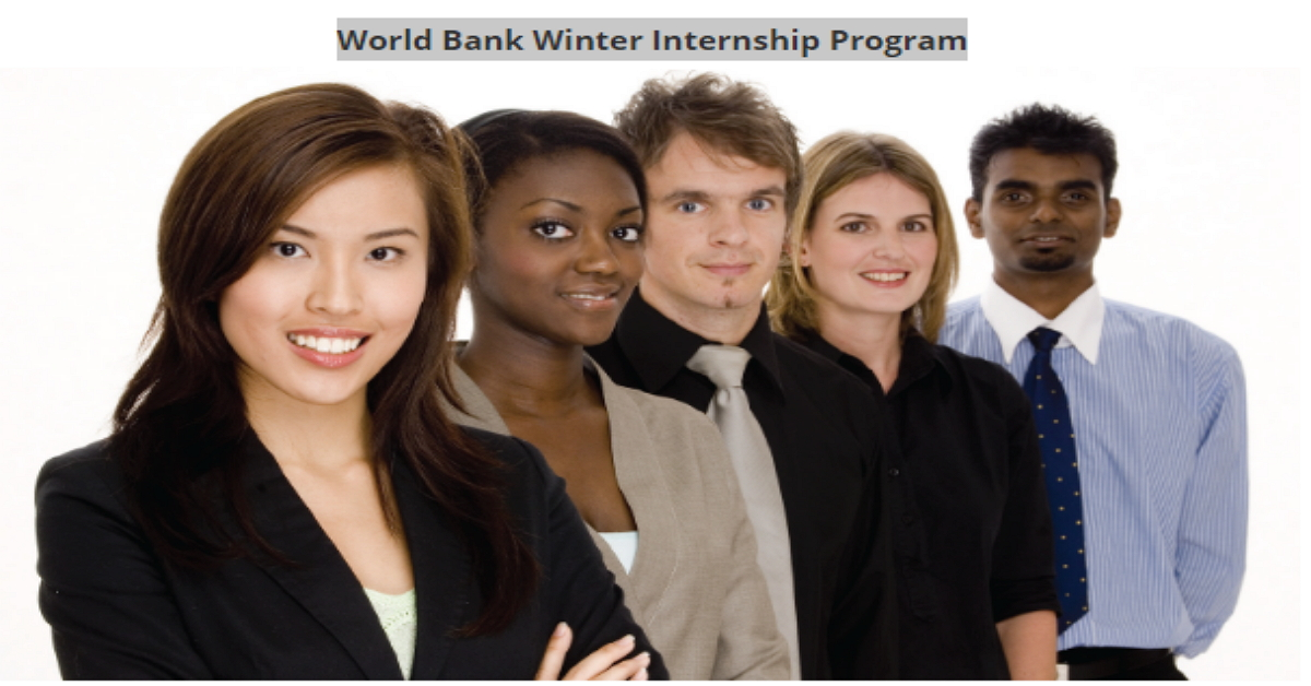 world bank group paid winter internship program 2020 for. Black Bedroom Furniture Sets. Home Design Ideas