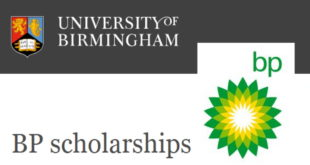 2020 BP Scholarships for International Students at University Of Birmingham, UK