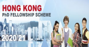 250 Hong Kong PhD Fellowships for International Students 2020-2021(Fully-Funded to Hong Kong)