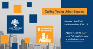 Call for Applications- SDSN Youth Local Pathways Fellowship 2020 for Young Innovators