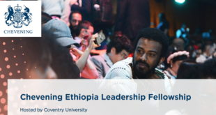 Chevening Ethiopia Leadership Fellowship 2020 at Coventry University, UK (Fully-Funded)