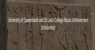 International Students Achievement Scholarships 2020 at University of Queensland, Australia