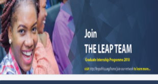 Leap Africa Graduate Internship Programme 2020 for Recent Graduates