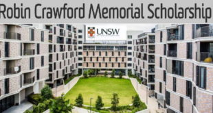 UNSW Robin Crawford Memorial Global Awards for Study in Australia