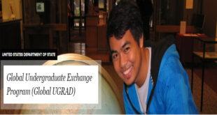 US Government Global UGRAD Program 2020