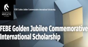 University of Newcastle FEBE Golden Jubilee Commemorative International Students Scholarship
