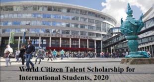 World Citizen Talent Scholarship for International Students