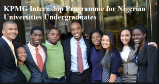 KPMG Internship Programme for Nigerian Universities Undergraduates