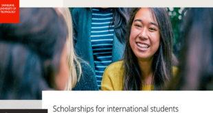 Swinburne University of Technology Dean's Scholarship for Masters Studies 2020