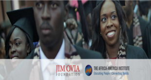 Jim Ovia Foundation Leaders Scholarship 2021/2022 for African Students
