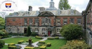 University of Dundee Global Excellence Postgraduate Scholarships 2020/21