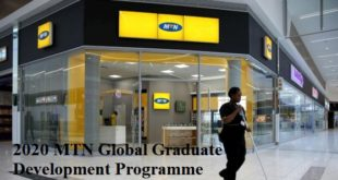 2020 MTN Global Graduate Development Programme