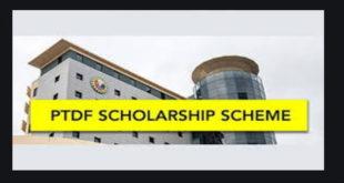 2020/2021 PTDF Overseas Postgraduate Scholarship Scheme in UK