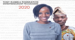 2020 Tony Elumelu Foundation (TEF) Entrepreneurship Programme for African Start-ups