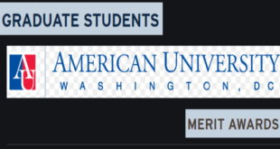American University International Graduate Students Merit Awards in USA