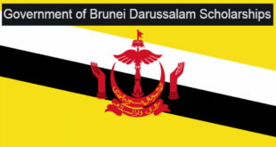 Fully-Funded 2021/22 Government of Brunei Darussalam Scholarship for Foreign Students
