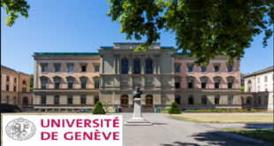Master's Fellowship at University of Geneva for International Students