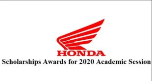Scholarships Awards for 2020 Academic Session