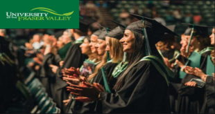 UFV International Excellence Entrance Scholarship in Canada, 2021