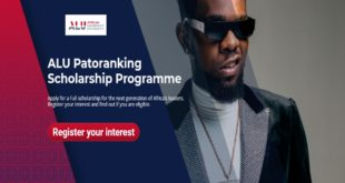 ALU Patoranking Scholarship Programme for African Students at African Leadership University, 2020