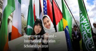 Government of Ireland International Education Scholarships 2020