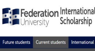 International Excellence Scholarship 2020 at Federation University, Australia