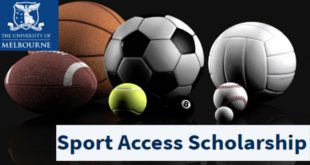 Melbourne University International Sport Access Scholarship 2020 in Australia