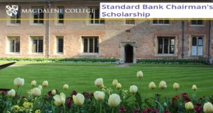 Standard Bank Scholarship for Africans 2020 [Fully-Funded]