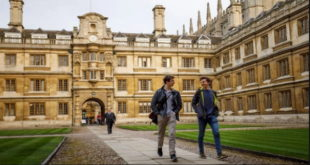 University of Cambridge Visiting Research Fellowship