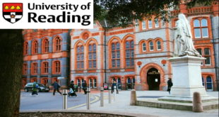University of Reading Postgraduate Scholarships for International Students