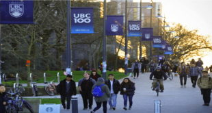 2020 International Tuition Award at the University of British Columbia