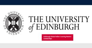 Edinburgh Global Online Learning Masters Scholarships for Developing Countries, 2020-21