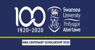 International MBA Scholarships at Swansea University in UK, 2020