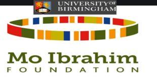 Mo Ibrahim Foundation Masters Scholarships 2020/2021 to Study in UK