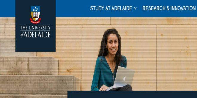 2020 Global Academic Excellence Scholarship at University of Adelaide, Australia