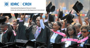 2020 IDRC Doctoral Research Awards for Students from Developing Nations