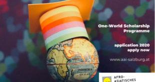 AAI One World Scholarship
