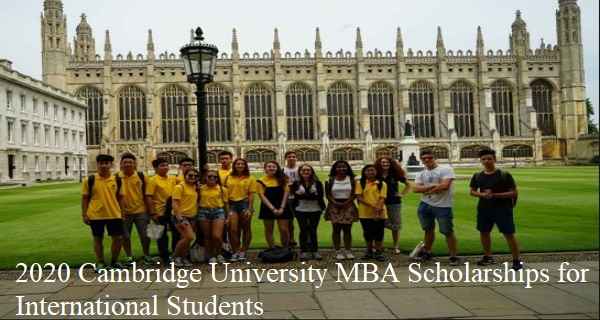 2020 Cambridge University MBA Scholarships for ...