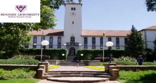 Postdoctoral Fellowship at Rhodes University for International Scholars