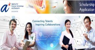 Singapore International Graduate Award (SINGA) for Study in Singapore 2020