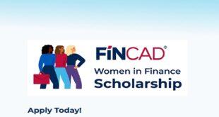 Women in Finance FINCAD Scholarship Award