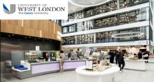 2020 International Scholarships at University of West London