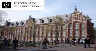 Amsterdam Excellence Scholarship at the University of Amsterdam