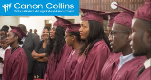 Canon Collins RMTF Postgraduate Scholarships for Africans