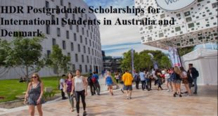 HDR Postgraduate Scholarships for International Students in Australia