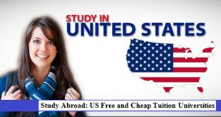 Study Abroad: US Free and Cheap Tuition Universities
