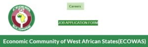 Vacancies at Economic Community of West African States (ECOWAS), June 2020