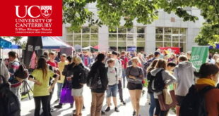 Vida Stout Scholarship for International Students at University of Canterbury